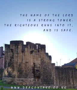 The name of the Lord is a strong tower