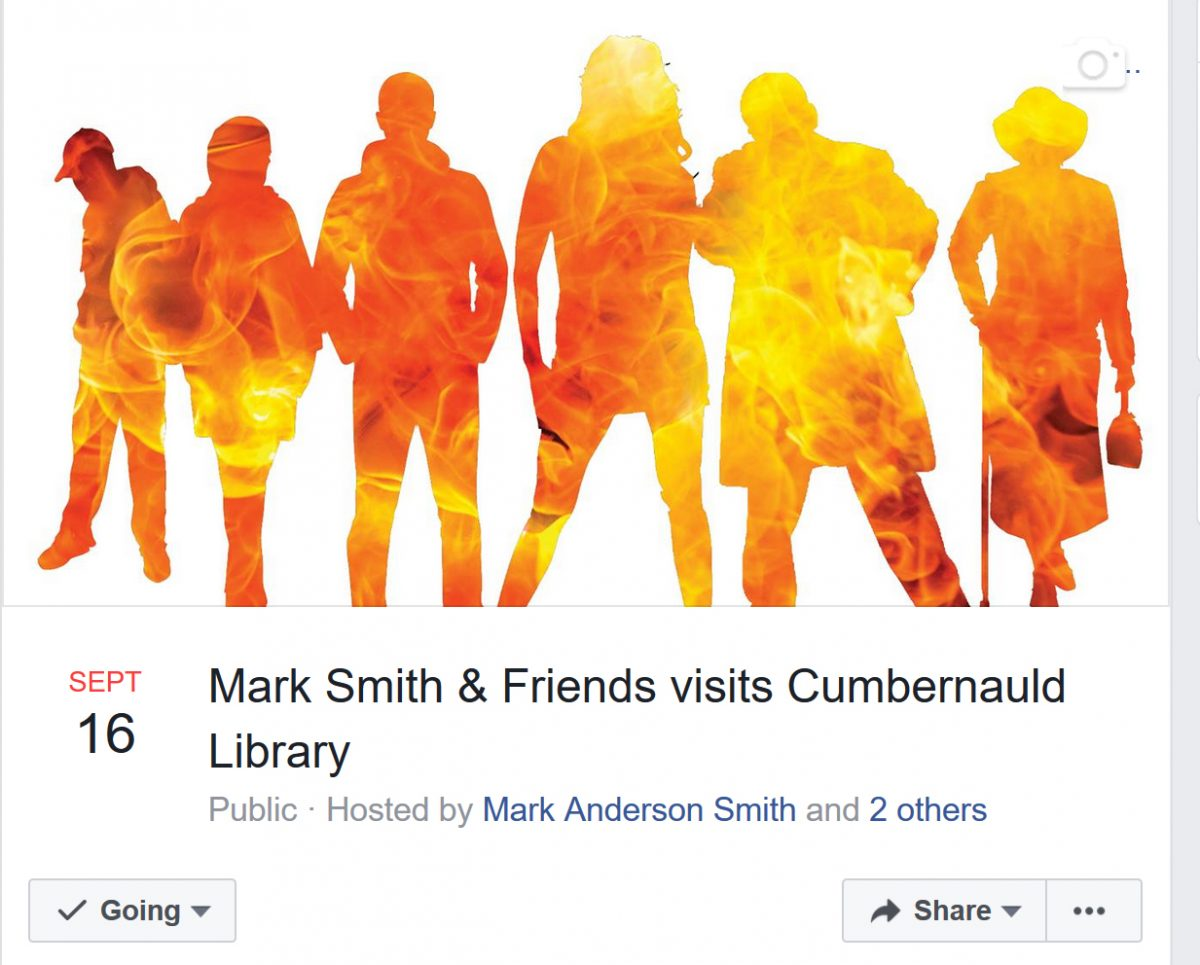Meet The Authors at Cumbernauld Library