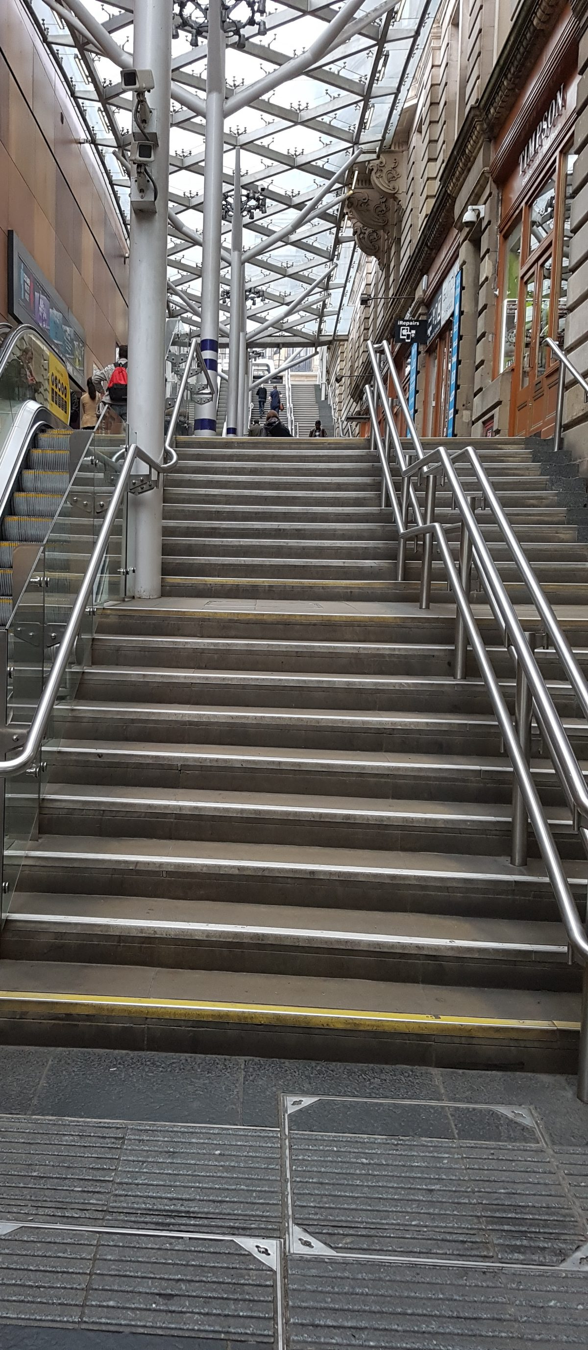 Steps at Waverley Station