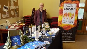 Photo of Mark Anderson Smith at Dundee Book Fair